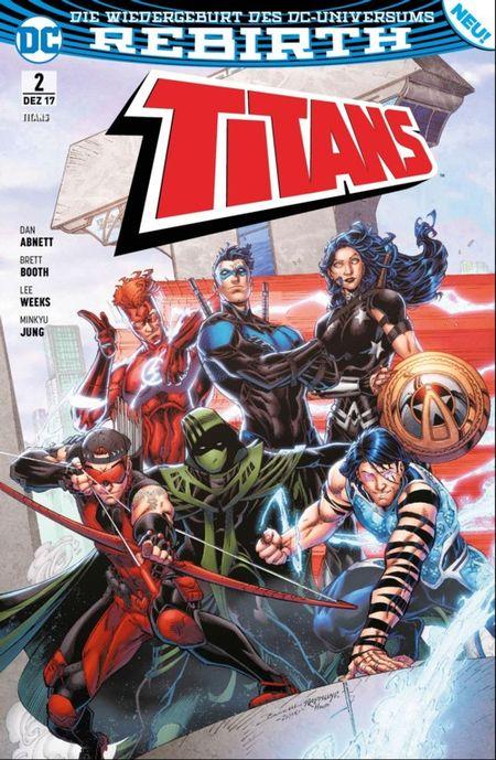 Titans (Rebirth) 2: Made in Manhattan i - Das Cover