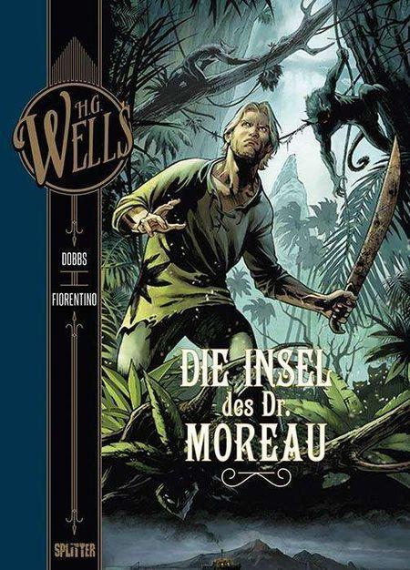 H.G. Wells – Die Insel des Dr. Moreau - Das Cover