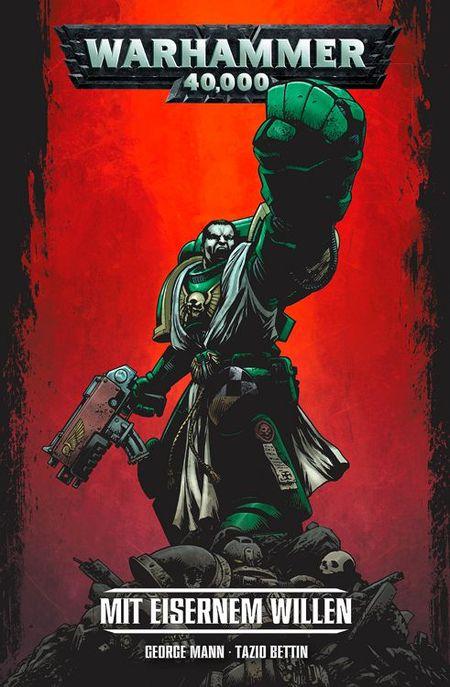 Warhammer 40.000: Mit eisernem Willen - Das Cover
