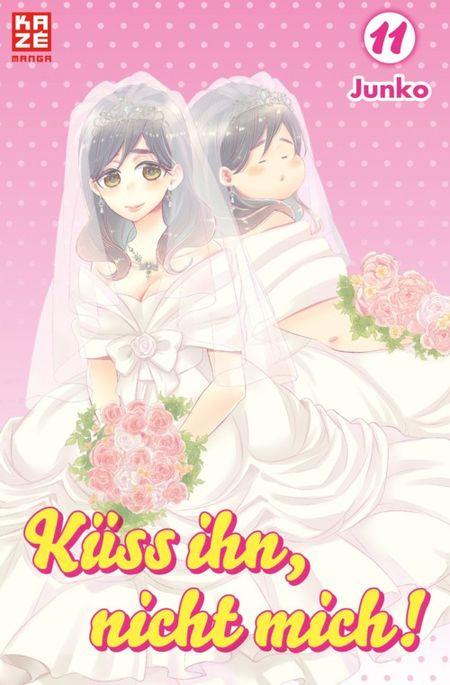 Küss ihn, nicht mich! 11 - Das Cover