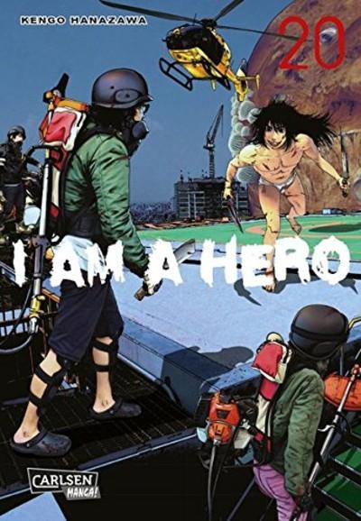 I am a Hero 20 - Das Cover