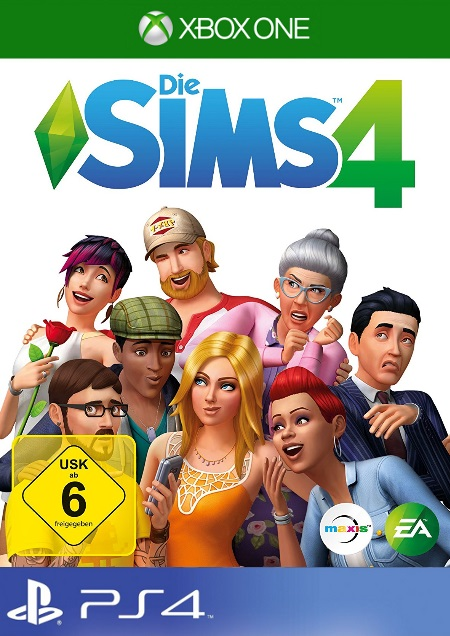 Die Sims 4 - Der Packshot