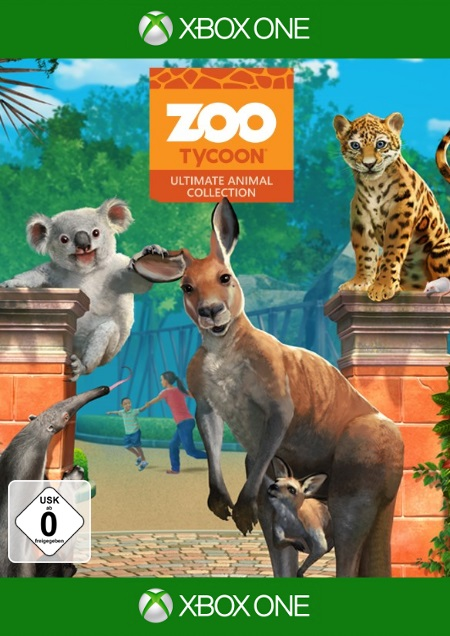 Zoo Tycoon - Ultimate Animal Collection - Der Packshot