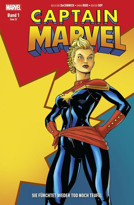Captain Marvel: Sie fürchtet weder Tod noch Teufel Band 1 - Das Cover