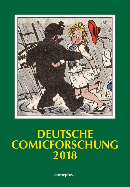 Deutsche Comicforschung 2018 - Das Cover