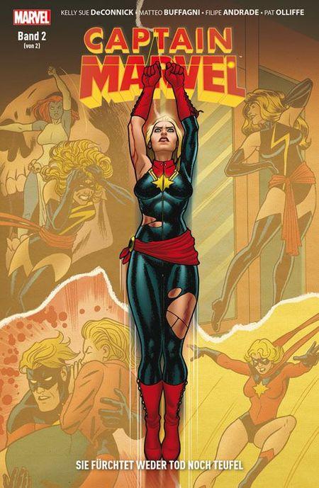 Captain Marvel: Sie fürchtet weder Tod noch Teufel Band 2 - Das Cover