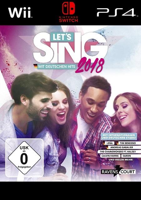 Let's Sing 2018 - Der Packshot