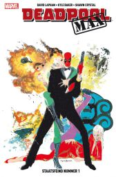 Deadpool Max 3: Staatsfeind Nummer 1 - Das Cover