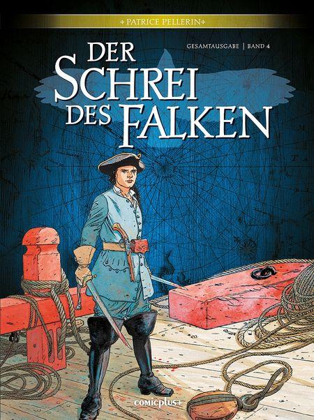 Der Schrei des Falken – Gesamtausgabe Band 4 - Das Cover