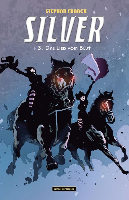Silver 3: Das Lied vom Blut - Das Cover