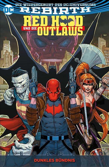 Red Hood und die Outlaws Megaband 1: Dunkles Bündnis  - Das Cover