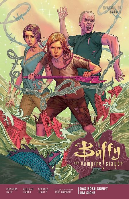 Buffy – The Vampire Slayer (Staffel 11) 1: Das Böse greift um sich! - Das Cover