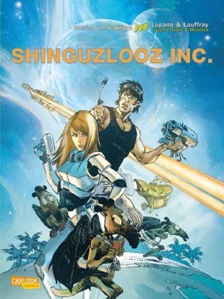Valerian und Veronique Spezial 2: Shinguzlooz Inc. - Das Cover