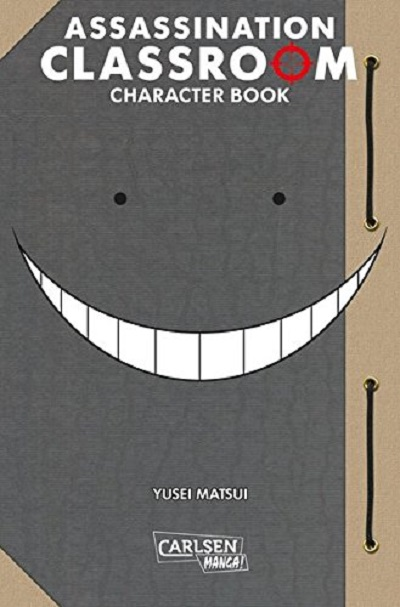 Assassination Classroom Charakter Book - Das Cover