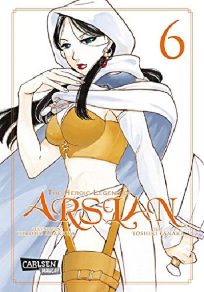 The Heroic Legend of Arslan 6 - Das Cover