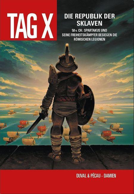 Tag X 4 – Die Republik der Sklaven - Das Cover