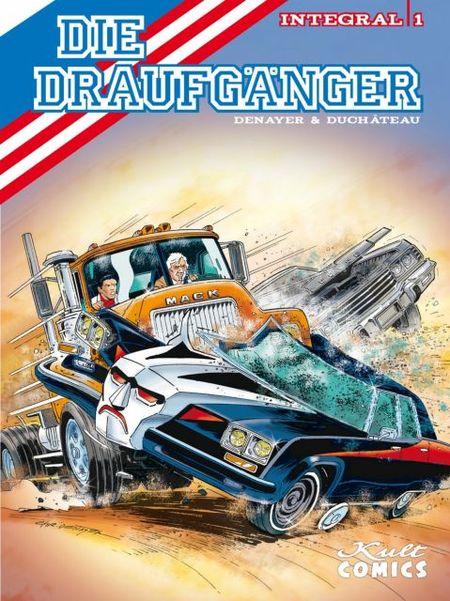 Die Draufgänger – Integral 1 - Das Cover