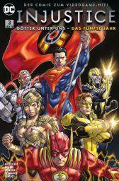 Injustice - Das fünfte Jahr 3 - Das Cover