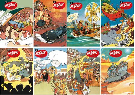 Taschen Mosaik 1 bis 8 - Das Cover
