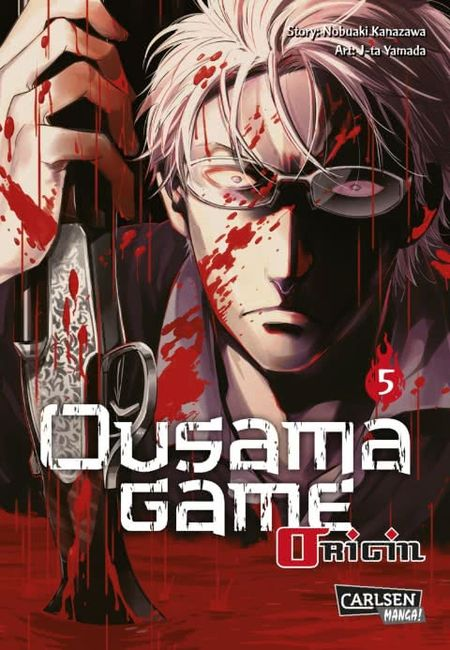 Ousama Game Origin 5 - Das Cover