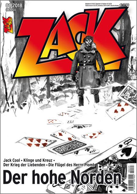 Zack 223 - Das Cover