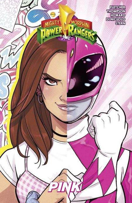 Mighty Morphin Power Rangers 3: PINK - Das Cover