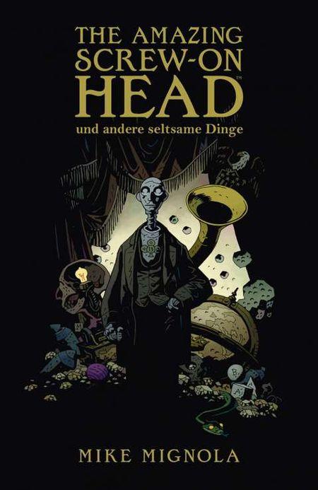 The Amazing Screw-On Head - Das Cover