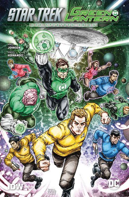 Star Trek-Green Lantern: Der Spektren Krieg - Das Cover