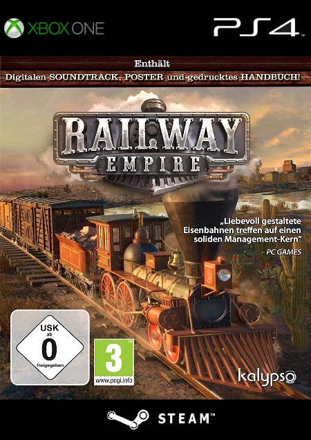 Railway Empire - Der Packshot