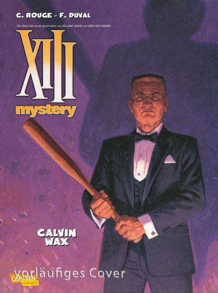 XIII Mystery 10 - Calvin Wax - Das Cover