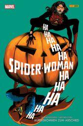 Spider-Woman 3: Kürbisbomben zum Abschied - Das Cover
