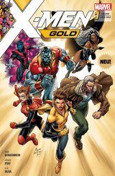 X-Men Gold 1: Ein neuer Morgen - Das Cover