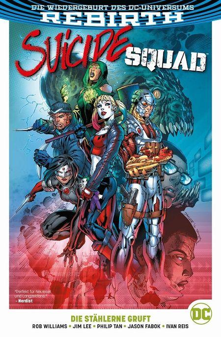 Suicide Squad (Rebirth) 1: Die stählerne Gruft - Das Cover