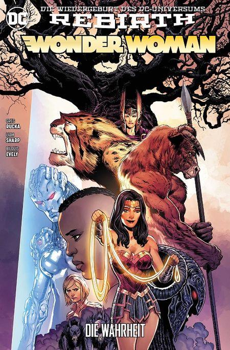 Wonder Woman (Rebirth) 3: Die Wahrheit - Das Cover
