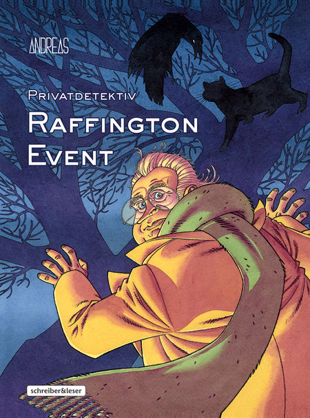 Privatdetektiv Raffington Event - Das Cover