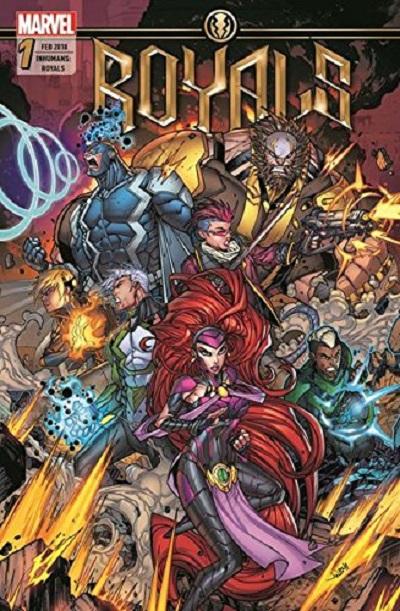 Inhumans Royals 1: Die Zukunft  - Das Cover