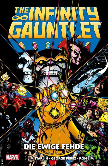 The Infinity Gauntlet: Die ewige Fehde  - Das Cover