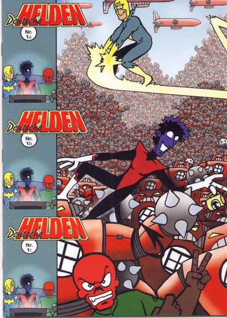 Deutsche Helden - Das Cover