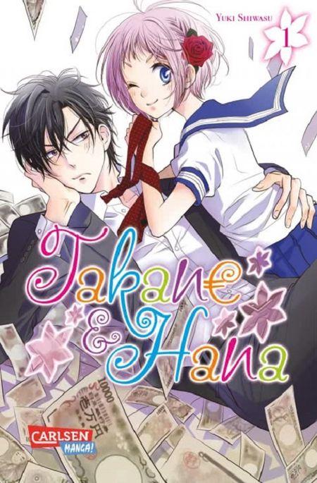 Takane & Hana 1 - Das Cover