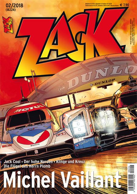 Zack 224 - Das Cover