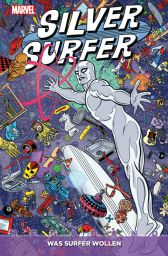 Silver Surfer Megaband: Was Surfer wollen - Das Cover