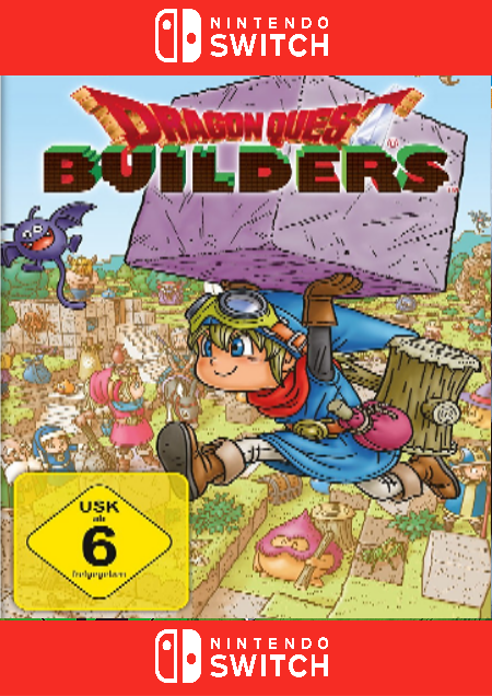Dragon Quest Builders (Switch) - Der Packshot