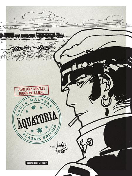 Corto Maltese 14 – Äquatoria (s/w) - Das Cover