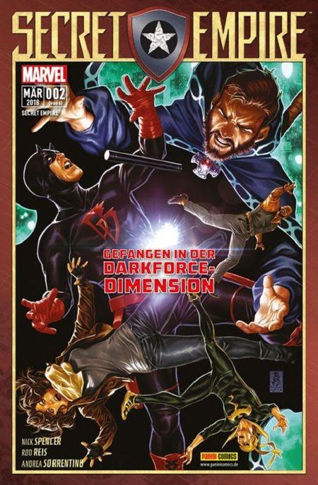 Secret Empire 2: Gefangen in der Darkforce Dimension  - Das Cover