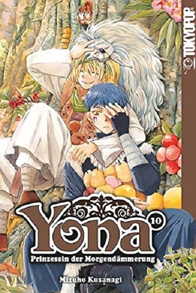 Yona - Prinzessin der Morgendämmerung 10 - Das Cover