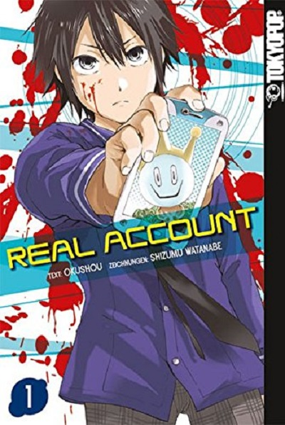 Real Account 1 - Das Cover