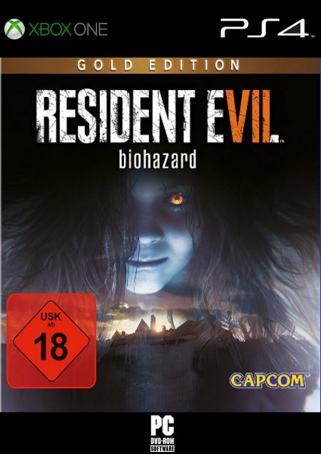 Resident Evil 7 Gold Edition - Der Packshot