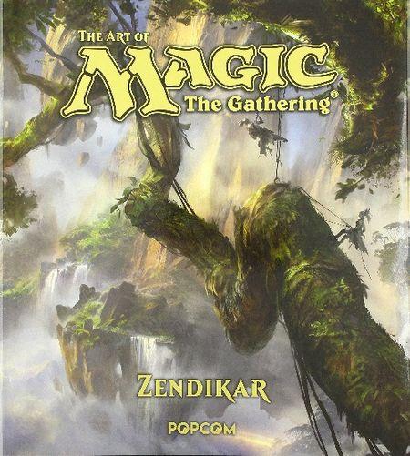 The Art of Magic - The Gathering: Zendikar - Das Cover