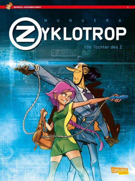 Spirou Präsentiert: Zyklotrop – Die Tochter des Z - Das Cover