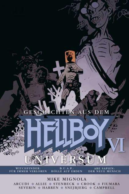 Geschichten aus dem Hellboy-Universum 6 - Das Cover